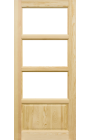 Drzwi Drewniane Standard Triada TR-4