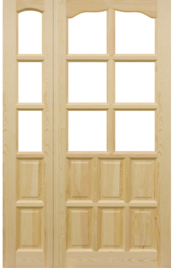 Drzwi Sosnowe Classic LS-6