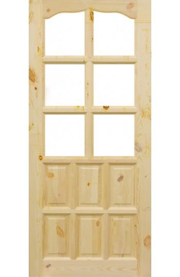 Drzwi Sosnowe Sęczne SK-1