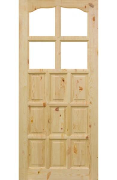 Drzwi Sosnowe Sęczne SK-2