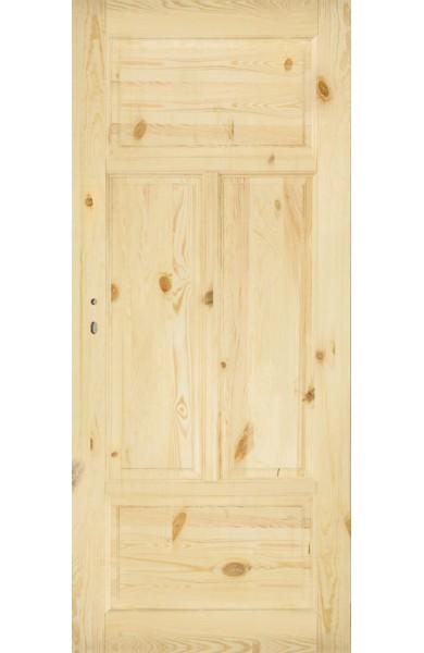 Drzwi Sosnowe Sęczne SK-4