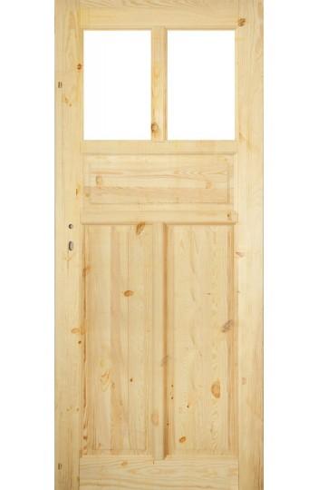 Drzwi Sosnowe Sęczne SK-9