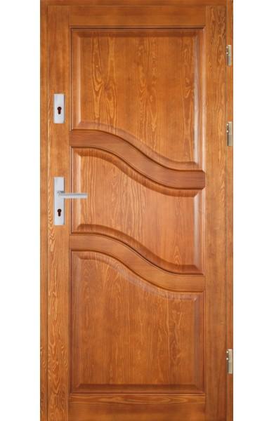 Drzwi Drewniane wewnątrz-klatkowe DWS-1