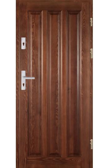 Drzwi Drewniane wewnątrz-klatkowe DWS-3