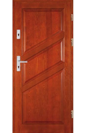 Drzwi Drewniane wewnątrz-klatkowe DWS-4