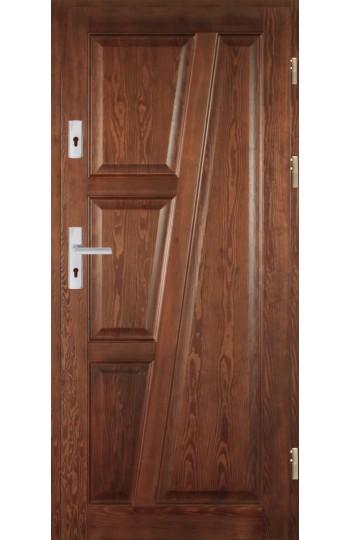 Drzwi Drewniane wewnątrz-klatkowe DWS-6