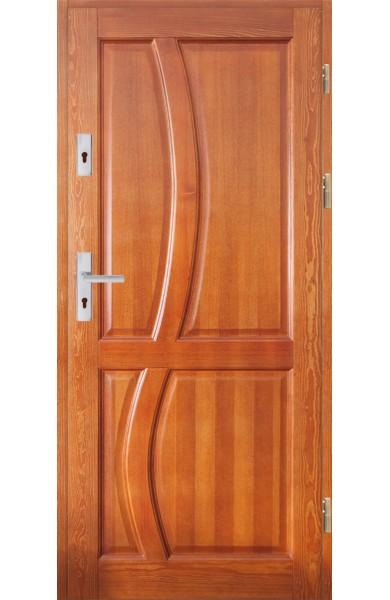 Drzwi Drewniane wewnątrz-klatkowe DWS-9