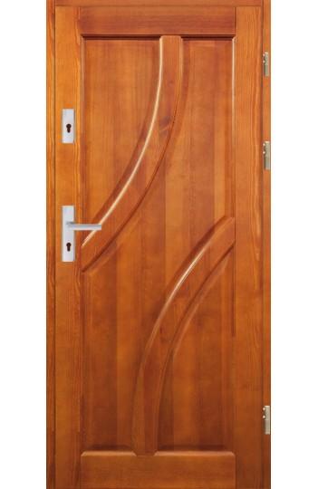 Drzwi Drewniane wewnątrz-klatkowe DWS-10